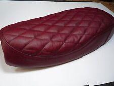 Triumph  Bonneville t100  Oxblood leather seat cover
