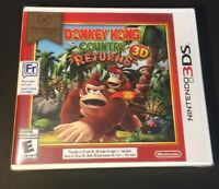 Donkey Kong Country Returns 3D [ Nintendo Selects ] (3DS) NEW