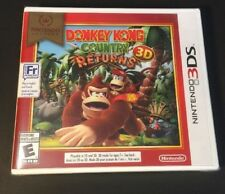 Donkey Kong Country Returns 3D [ Nintendo Selects Print ] (3DS) NEW