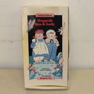 Raggedy Ann Cloth Doll by Applause LE 7500 w/ Box & CoA