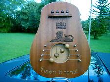 Harrari Harps Jerusalem custom carvings by Micah 1995 Door Harp beautiful piece