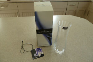 DARTINGTON lead crystal FLORABUNDANCE BLUBELL VASE