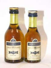 Cognac Martell SET 2 x mini flaschen bottle miniature bottela