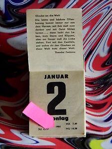 37.Geburtstag (3x) orig. Kalenderblatt Januar-Februar 1984 Geschenk Hochzeitstag