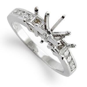 .26 cwt Diamond Engagement Ring Setting Platinum R1884 - Sizes 4 to 9.5