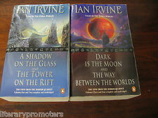 IAN IRVINE A TALE OF THREE WORLDS SET A Shadow on the Glass Tower On Rift Dark