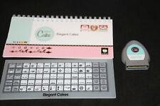 Elegant Cakes Martha Stewart Cricut cartridge LINKED with booklet overlay NO BOX