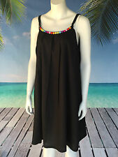 Rayon Summer/Beach Solid Regular Size Dresses for Women
