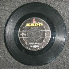 """Searchers-Needles And Pins/Saturday Night Out 1964 orig. US KAPP 7"""" no p/s VG"""