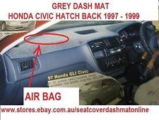 DASH MAT, GREY DASHMAT  FIT HONDA CIVIC 1997-1999 PASSENGER SIDE AIR BAG, GREY