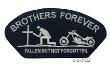 Heavy Metal Punk Rock Música Coser/Hierro en Parche Brothers Forever Biker