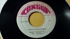 Roland Alphonso -You're So Delightful /Ska Murder on Studio One
