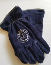 Shelby Size Jumbo Firefighters Firewall Gloves 5228 J Leather
