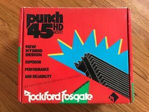 Rockford Fosgate Punch 45HD BNIB sealed perfect OLD SCHOOL