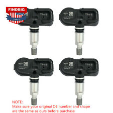 4x New TPMS Tire Pressure Sensors For Scion Toyota Lexus PMV-107J 42607-33021