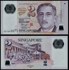 2 DOLLARI Singapore (P46i) N. D. (2017) Polymer UNC