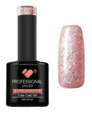588 VB Line Light Rose Mirror Glitter - gel nail polish - super gel polish
