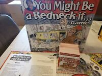 Jeff Foxworthy's You Might Be A Redneck If... Board Game COMPLETE Sealed Pieces
