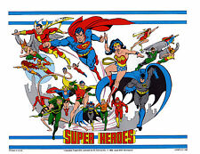 DC SUPER HEROES - JUSTICE LEAGUE of AMERICA PRINT