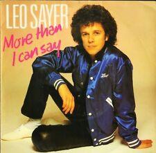 """Leo Sayer más de lo que puedo decir 7"""" PS Ex/Ex UK Chrysalis CHS 2442"""