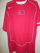 2004-2006 Turkey Home Football Shirt Size Large /9771