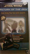STAR WARS READ A LONG CASSETTE 3 FIGS BOOK ROTJ NIB