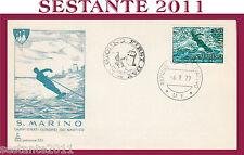 SAN MARINO FDC CAPITOLIUM 150 CAMPIONATI EUROPEI SCI NAUTICO 1979 (348)