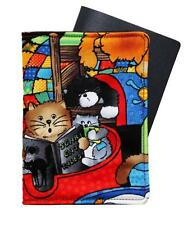 Passport Cover/Folder/Wallet - Cat Nap #2* hand crafted by Graggie Australia*Ga