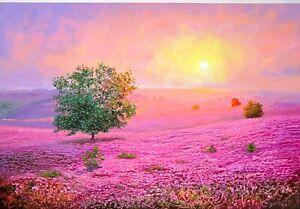 Original Oil Painting On Canvas - Landscape - Fantasy View