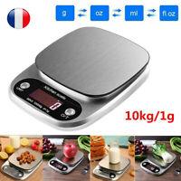 1g-10kg électronique numérique verre cuisine cuisson colis balance Outil FR