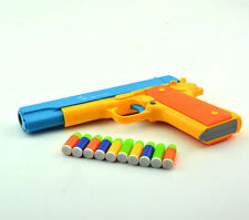 M1911 Kid toys Prop Pistol Costume Toy Rifle Gun toys Working Slide Shoot Bullet