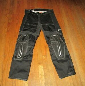 ICON Timax Pants Asphalt Technologies Titanium Reinforced Textile Men Sz 36 NWOT