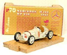 R70 Modellino auto corsa BRUMM 1/43 1937 MERCEDES BENZ W125 #6 diecast