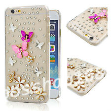 Glitter Luxury Bling Diamonds Stones gems hard PC back Phone Case Cover Skin #N