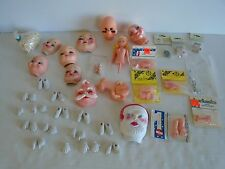 Big Lot of New Vintage Doll Making Supplies Pre-painted Furniture Ship Fast