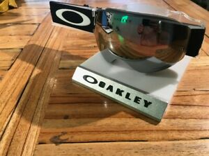 New Oakley Flight Deck Snow Goggle - Matte Black w/Prizm Black