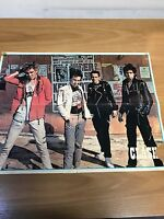 Ultra-Rare Genuine 1977 Clash & Sex Pistols double sided Punk Poster
