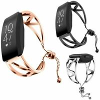 Für Fitbit Inspire/Inspire HR Edelstahl Armband Uhrenarmband Strap Wristband Neu