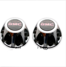 2pcs.  2008-2010 GMC Sierra 3500 Hub wheel Center Caps CHROME P/N 9597536 PAIR