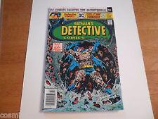 Detective Comics 461 Batman NM 1970s Bronze Age comic Tim Trench HIGH GRADE