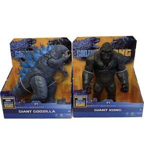 """Monsterverse Godzilla vs Kong - Giant King Kong and Godzilla Action Figure 11"""""""