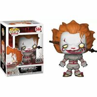 Funko POP Pennywise chase 472# 542# Action Figures Collectible Toy with Box UK