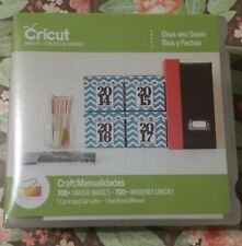 Cricut Cartridge Days and Dates NEW Not Linked for Scrapbooking