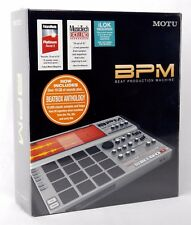 Motu BPM 1.5 FULL + Beatbox Anthology music software 19gb suoni + NUOVO + GARANZIA