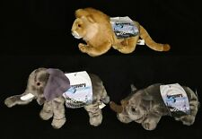 Discovery Channel Animals By Woolrich Set Of 3 With Original Tags