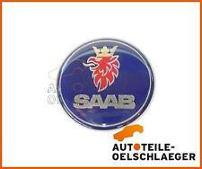 Original Emblema Saab Capó 9-3 II 03-14 9-5 i Logotipo Insignia Hood 12844161