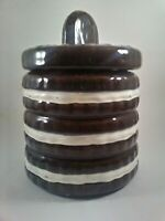 🔥OREO Nabisco Ceramic Cookie Jar Collectible Vintage