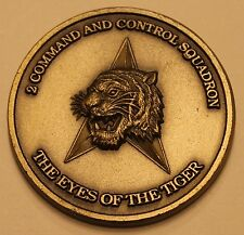2nd Command and Control Squadron Air Force Challenge Coin