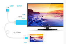 Digital AV HDTV HDMI Cable TO Transfer VIDEO MUSIC AUDIO FROM iPhone Tab to TV