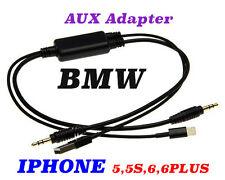BMW Câble Adaptateur pour l'iphone 5,6, Plus, USB Câble BMW Série 1-7,X1,X5,Z4